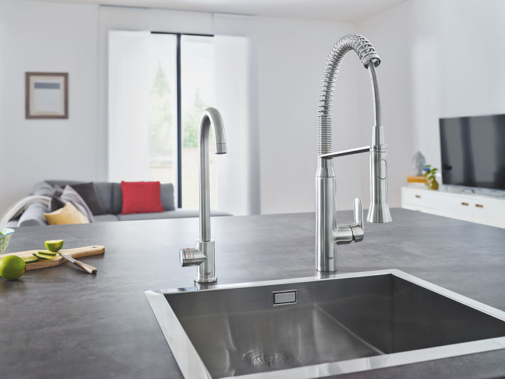 Gasservice grohe red mono l uitloop